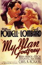 My Man Godfrey - 11 x 14 Movie Poster - Style B