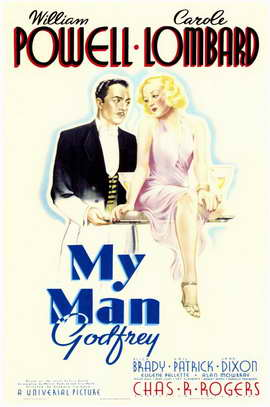 My Man Godfrey - 11 x 17 Movie Poster - Style B