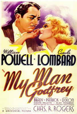 My Man Godfrey - 27 x 40 Movie Poster - Style A