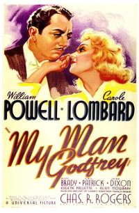 My Man Godfrey - 43 x 62 Movie Poster - Bus Shelter Style A