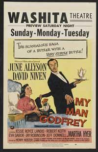 My Man Godfrey - 11 x 17 Movie Poster - Style C