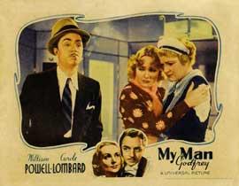 My Man Godfrey - 11 x 17 Movie Poster - Style E