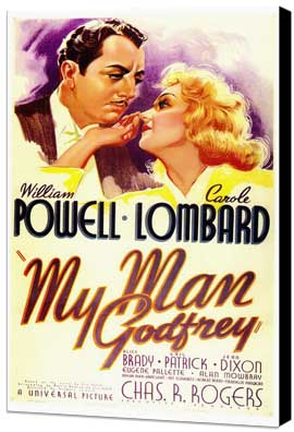 My Man Godfrey - 11 x 17 Museum Wrapped Canvas