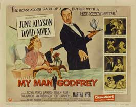 My Man Godfrey - 11 x 14 Movie Poster - Style A