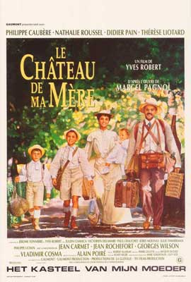 My Mother's Castle - 27 x 40 Movie Poster - Belgian Style A