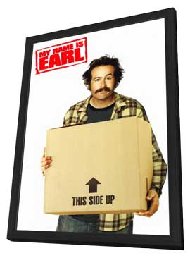 My Name is Earl - 11 x 17 TV Poster - Style A - in Deluxe Wood Frame