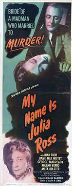 My Name is Julia Ross - 14 x 36 Movie Poster - Insert Style A