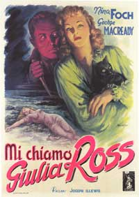 My Name is Julia Ross - 43 x 62 Movie Poster - Italian Style A