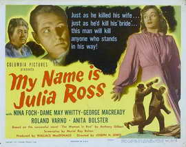 My Name is Julia Ross - 11 x 17 Movie Poster - Style B