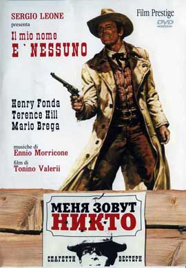 My Name Is Nobody - 27 x 40 Movie Poster - Russian Style A