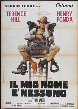 My Name Is Nobody - 11 x 17 Movie Poster - Italian Style A