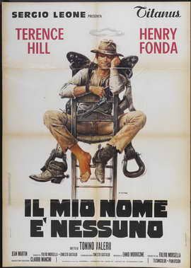 My Name Is Nobody - 27 x 40 Movie Poster - Italian Style A