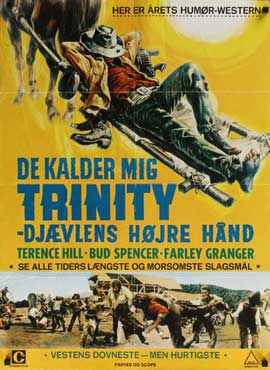 My Name Is Trinity - 27 x 40 Movie Poster - Danish Style A