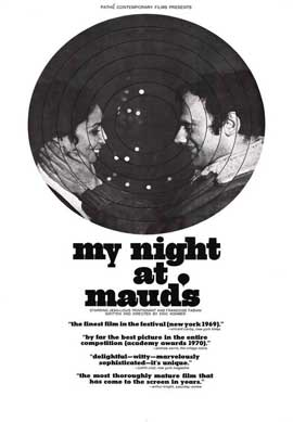 My Night at Maud's - 11 x 17 Movie Poster - Style A