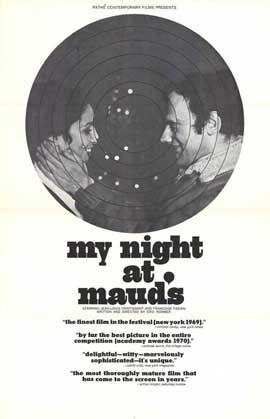 My Night at Maud's - 27 x 40 Movie Poster - Style A