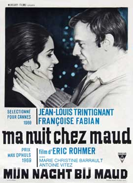My Night at Maud's - 22 x 28 Movie Poster - Half Sheet Style A