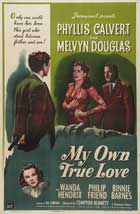 My Own True Love - 27 x 40 Movie Poster - Style A