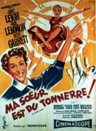 My Sister Eileen - 11 x 17 Movie Poster - French Style B