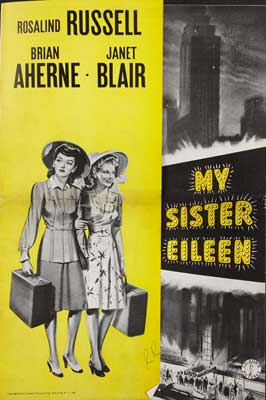My Sister Eileen - 11 x 17 Movie Poster - Style C