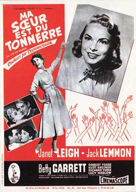 My Sister Eileen - 11 x 17 Movie Poster - French Style A