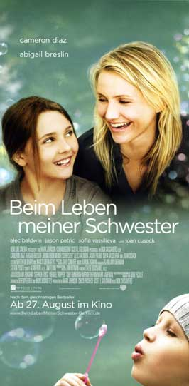 My Sister's Keeper - 20 x 40 Movie Poster - German Style A
