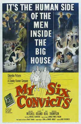 My Six Convicts - 27 x 40 Movie Poster - Style A