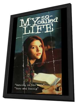 My So-Called Life - 27 x 40 TV Poster - Style B - in Deluxe Wood Frame