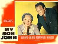 My Son John - 11 x 14 Movie Poster - Style B