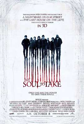 My Soul to Take - 11 x 17 Movie Poster - Canadian Style A