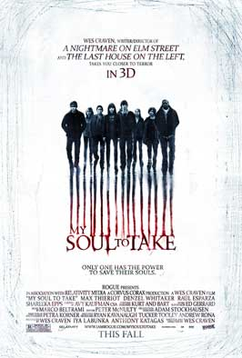 My Soul to Take - DS 1 Sheet Movie Poster - Style A