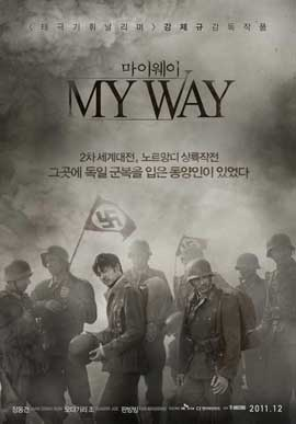 My Way - 27 x 40 Movie Poster - Korean Style A