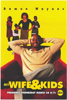 My Wife and Kids - 11 x 17 TV Poster - Style B
