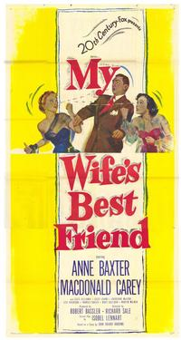 My Wife's Best Friend - 43 x 62 Movie Poster - Bus Shelter Style A