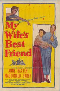 My Wife's Best Friend - 43 x 62 Movie Poster - Bus Shelter Style B