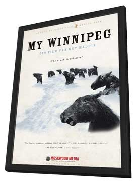 My Winnipeg - 11 x 17 Movie Poster - Netherlands Style A - in Deluxe Wood Frame