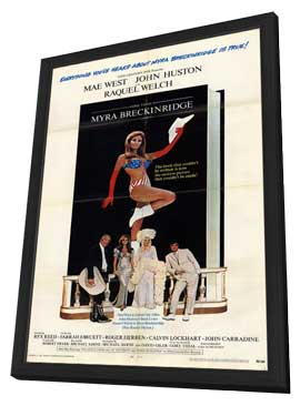 Myra Breckinridge - 11 x 17 Movie Poster - Style A - in Deluxe Wood Frame