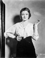 Myrna Loy - Myrna Loy Posed in Long Sleeve Blouse
