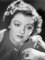 Myrna Loy - Myrna Loy Portrait in Classic with Ring