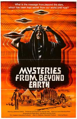Mysteries from Beyond Earth - 27 x 40 Movie Poster - Style B