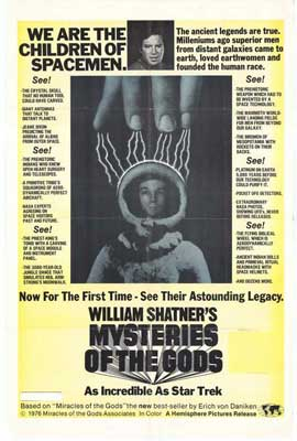 Mysteries of the Gods - 27 x 40 Movie Poster - Style A