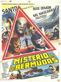 Mysterio en Las Bermudas - 27 x 40 Movie Poster - Spanish Style A