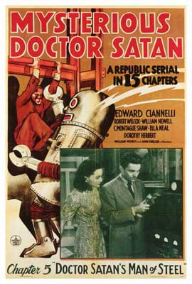 Mysterious Doctor Satan - 27 x 40 Movie Poster - Style A