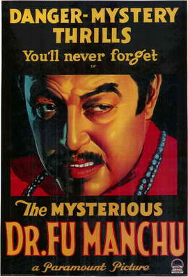 Mysterious Dr. Fu Manchu - 11 x 17 Movie Poster - Style A