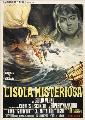 Mysterious Island - 11 x 17 Movie Poster - Italian Style A