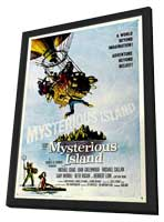 Mysterious Island - 27 x 40 Movie Poster - Style A - in Deluxe Wood Frame