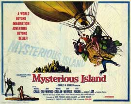Mysterious Island - 11 x 14 Movie Poster - Style A