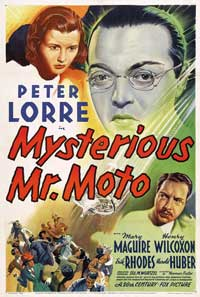 Mysterious Mr. Moto - 11 x 17 Movie Poster - Style A