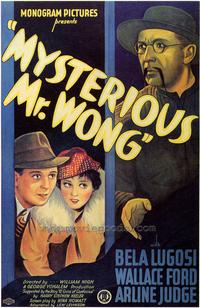 Mysterious Mr. Wong - 43 x 62 Movie Poster - Bus Shelter Style A