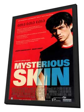 Mysterious Skin - 11 x 17 Movie Poster - Style A - in Deluxe Wood Frame