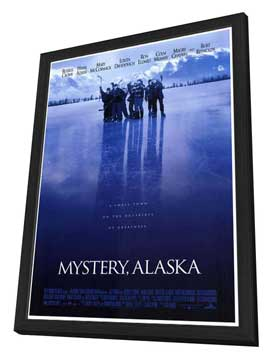 Mystery, Alaska - 27 x 40 Movie Poster - Style A - in Deluxe Wood Frame